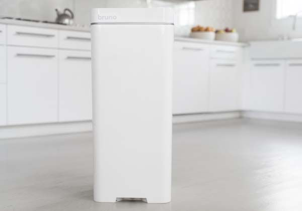 Bruno Smart Trash Can with Built-in Vacuum