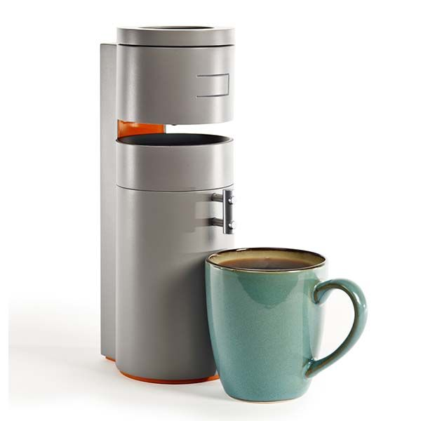 Portable Compact Coffee Maker : Bruvelo Compact Smart Coffee Maker Gadgetsin