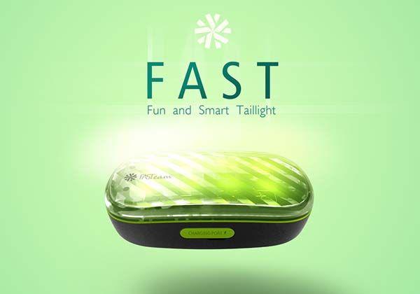 FAST Smart Bike Tail Light