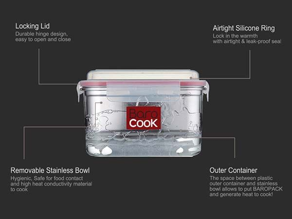 Flameless Cook Box Allows You to Cook Warm Meals without Fire