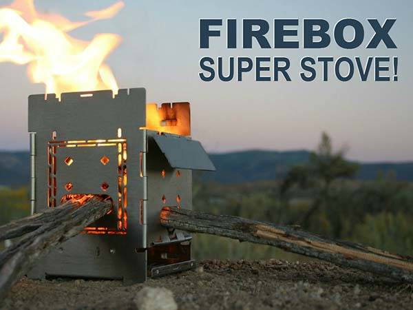 G2 Folding Firebox Camping Stove