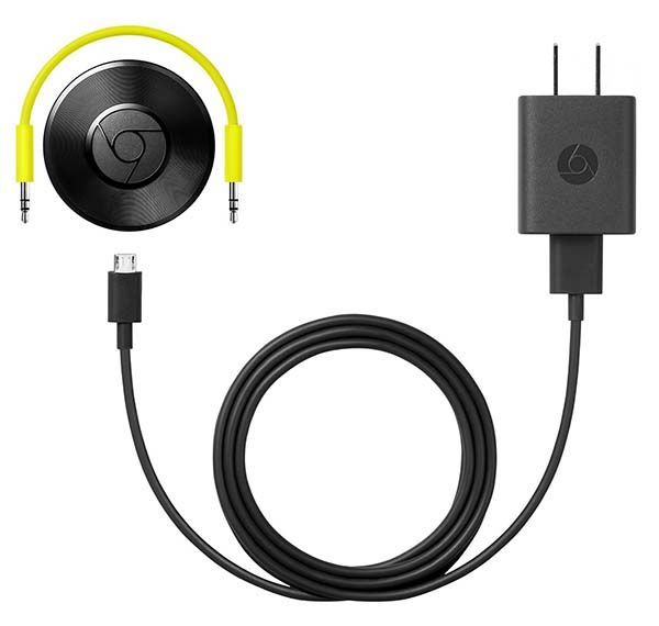Google Chromecast Audio WiFi Music Streaming Device