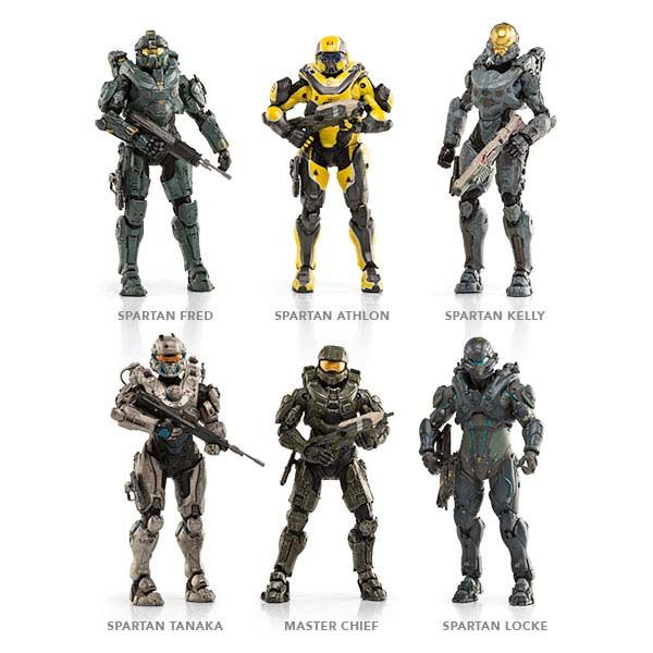 Halo 5: Guardians Action Figures