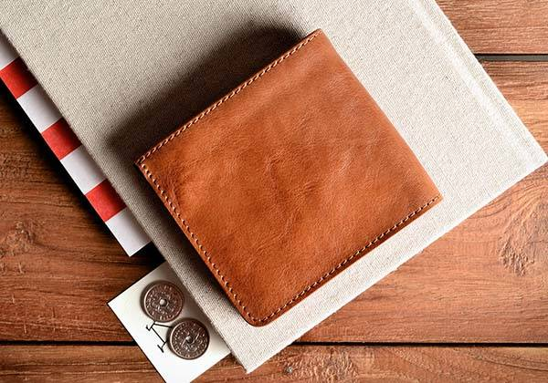 Hard Graft Classic Zip Leather Wallet