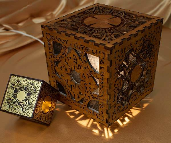 Hellraiser Lament Configuration Shaped Mood Light - one of our handmade gadgets