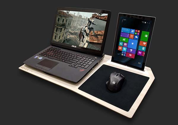 Hover X Laptop Lap Desk for Gamers
