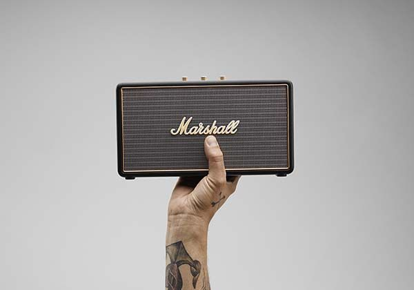 Marshell Headphones Stockwell Portable Bluetooth Speaker Boasts Compact and Classic Design