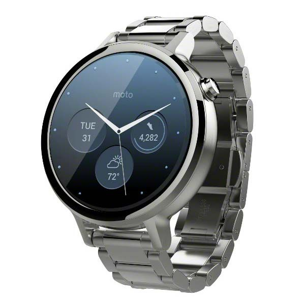Motorola New Moto 360 Smartwatch Boasts Two Sizes ...