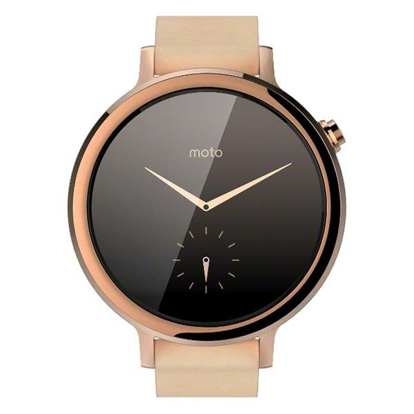 Motorola New Moto 360 Smartwatch Boasts Two Sizes