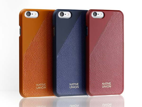 Native Union Leather Edition Set Includes Refined iPhone 6s Case and Braided Charging Cable
