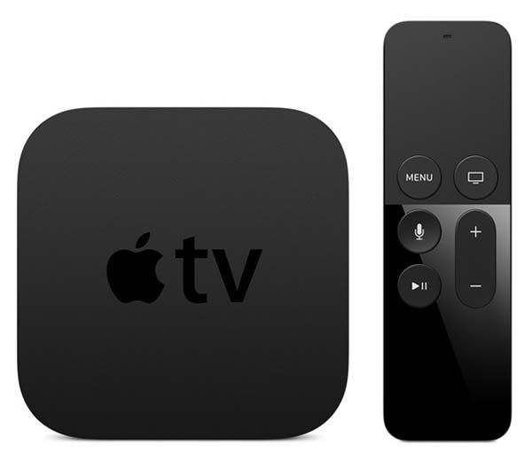 New Apple TV 2015 with Siri Remote with Touch Surface, App Store and More
