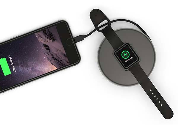 Nomad Pod Pro Power Bank for iPhone and Apple Watch