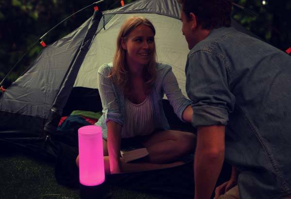 The App-Enabled Bluetooth LED Camping Lantern