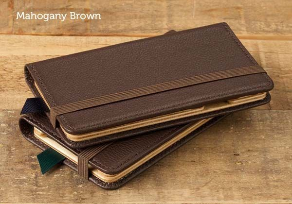 Pad&Quill Little Pocket Book Leather iPhone 6s Case
