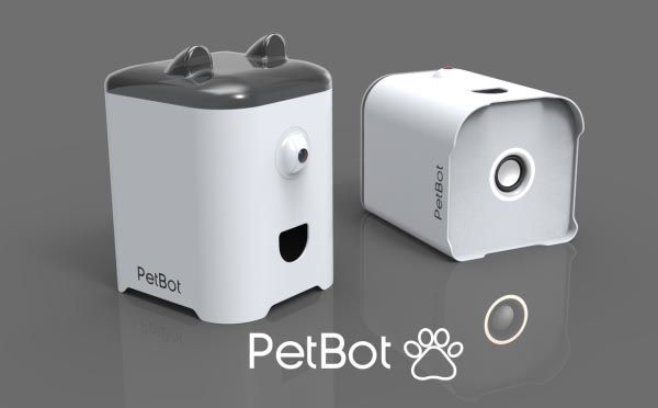 PetBot Smart Device Lets Your Pet Send You Selfies