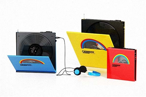 The Awesome Rawman 3000 Portable Vinyl Player Lets You