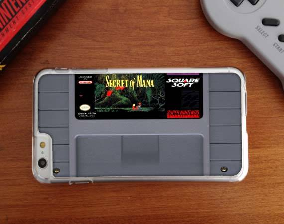 SNES Cartridge iPhone 6 and 6 Plus Cases