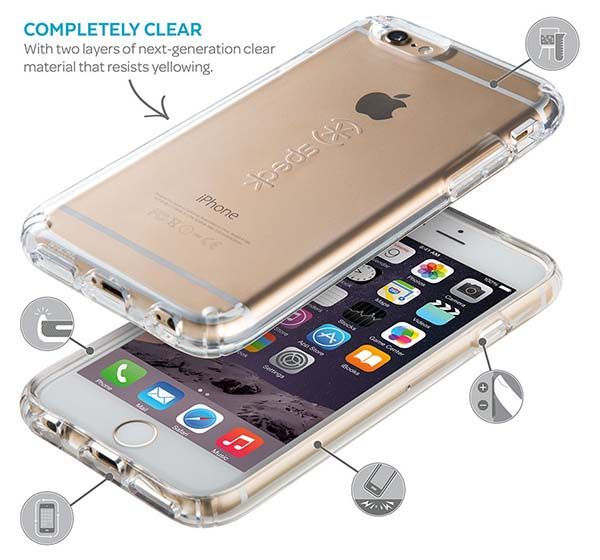 Speck CandyShell Clear iPhone 6s Case