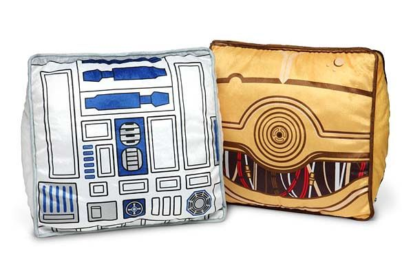 Star Wars C-3PO and R2-D2 Throw Pillows