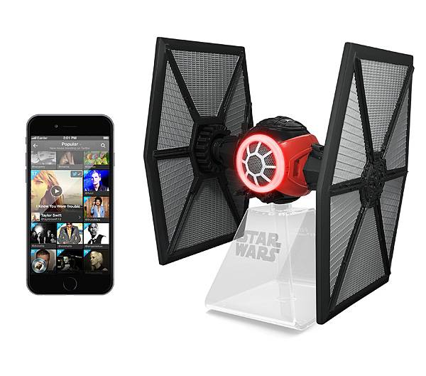 Star Wars TIE Fighter Portable Bluetooth Speaker