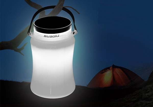 Suaoki Solar Powered Collapsible LED Camping Lantern