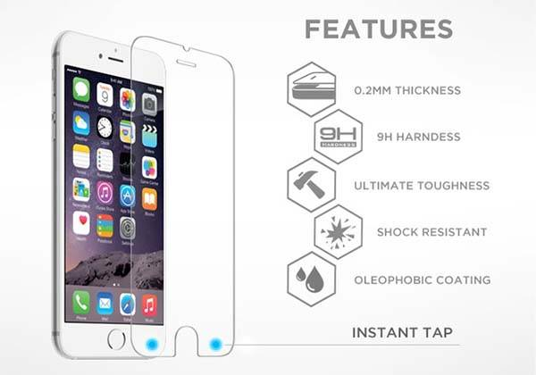 Tap Intelligent Screen Protector for iPhone 6s/ 6s Plus