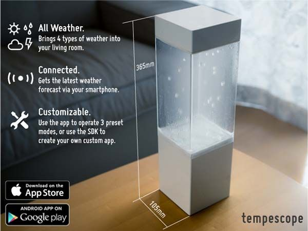 Tempescope Visual Weather Station
