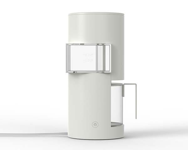 The Architecture Coffee Maker Inspired by Japanese Dwelling