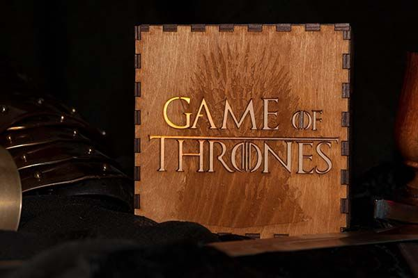 The Handmade Game of Thrones Mood Lamp with House Sigils