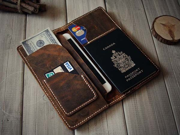 Iphone Leather Wallet Case S