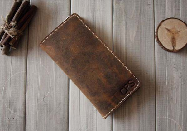Handmade iPhone 6 Leather Wallet