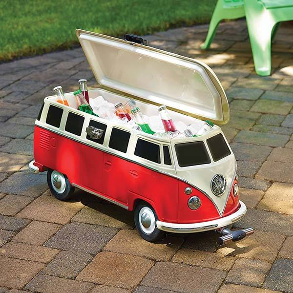 Volkswagen Camper Van Shaped Cooler