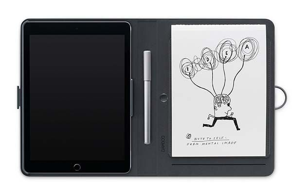 Wacom Bamboo Spark Smart Notebook with Pen