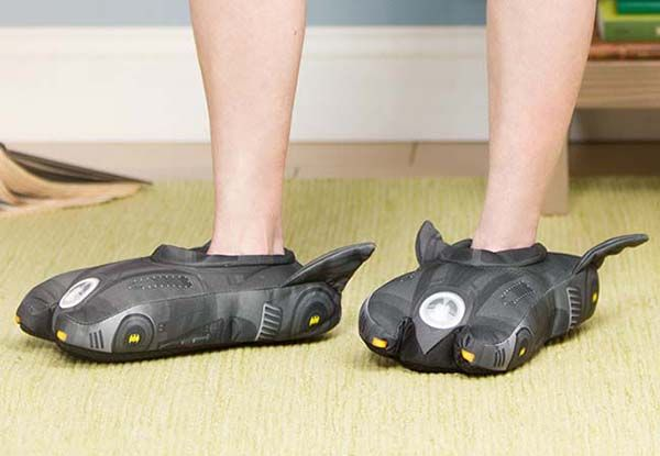 Batman Batmobile 3D Slippers