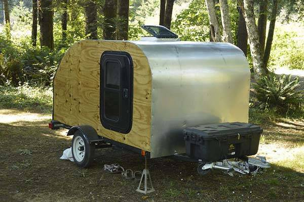 Build Your Own Teardrop Camping Trailer by Yourself