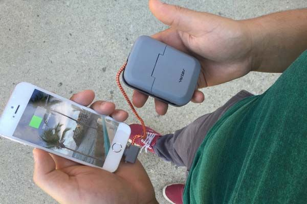 Chargestand Portable Charging Station Serves as Power Bank