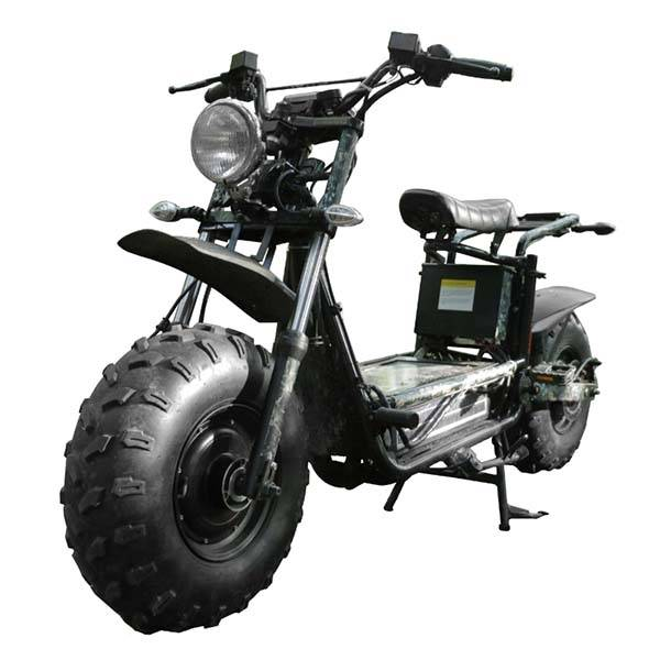 Daymak Beast D All-Terrain Electric Bike with Dual Brushless DC Motor and Solar Panel Battery