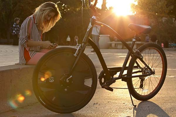 Electron Wheel Turns Your Bike into Electric Bike