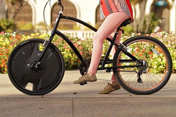 Electron Wheel Turns Your Bike into an Electric Bike ...