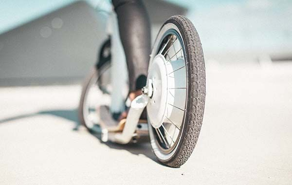 FlyKly Smart Ped Foldable Electric Scooter