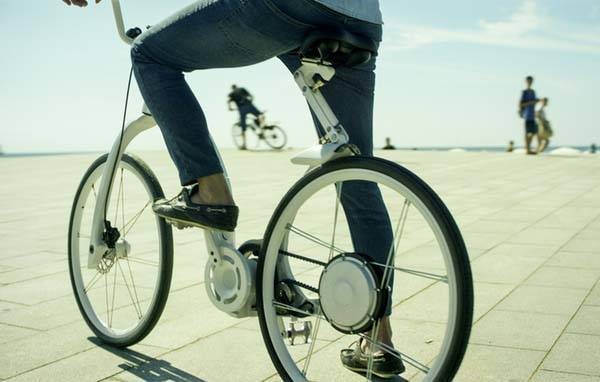 Gi FlyBike Folding Electric Bike