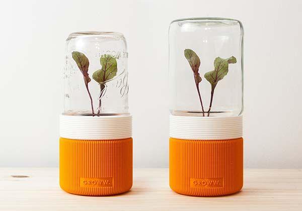 Groww Is A 3d Printed Minimal Greenhouse Gadgetsin