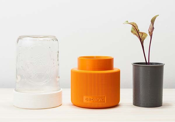 GROWW 3D Printed Minimal Greenhouse