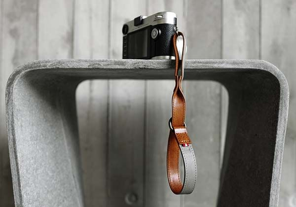 Hard Graft Slide Leather Camera Strap