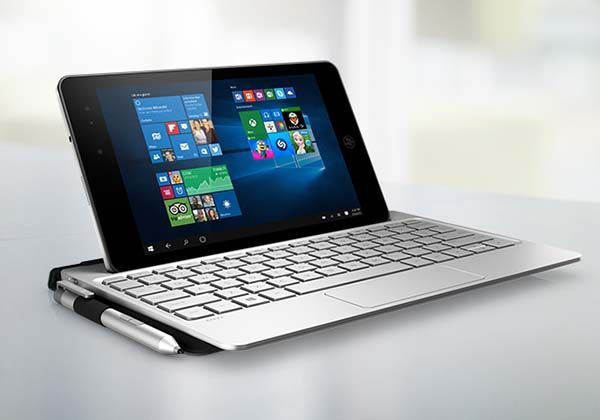 HP ENVY 8 Note 2-In-1 Windows Tablet with a Keyboard Dock and Stylus
