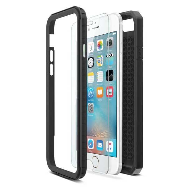 iLuv DropArmor X iPhone 6s Case with Tempered Glass Screen Protector