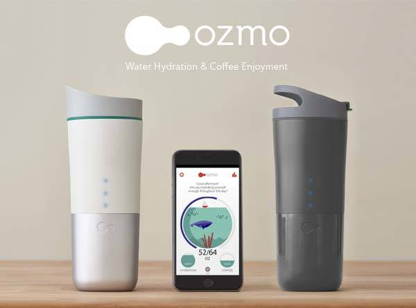 Your Daily Tracks ConsumptionGadgetsin Beverage Ozmo Smart Travel Mug reodCxB