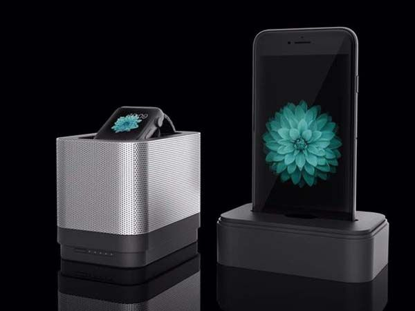 Pocket Portable Charging Station for Apple Watch and iPhone
