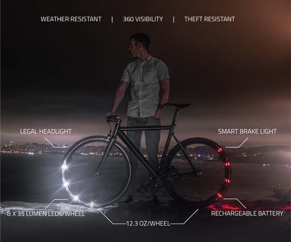 Revolights Eclipse+ Smart Bike Lighting System
