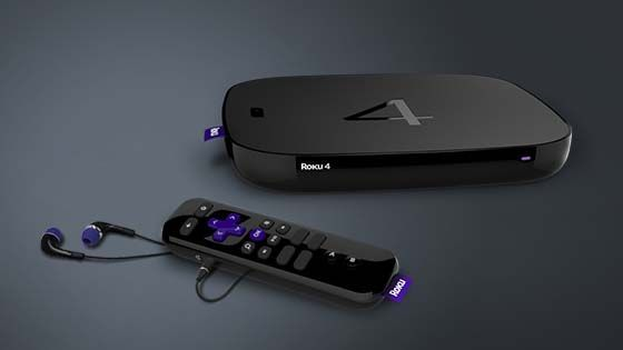 Roku 4 4K Streaming Box